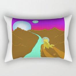 Dogstronaut Rectangular Pillow