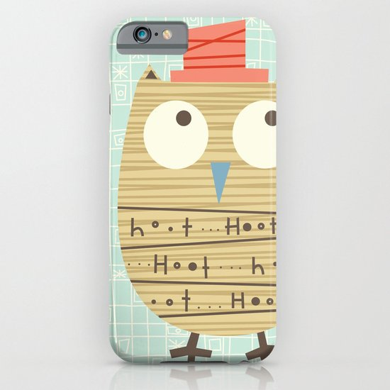 Mr.Hooti iPhone & iPod Case