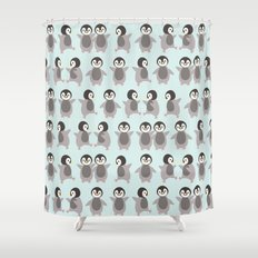 Just penguins Shower Curtain