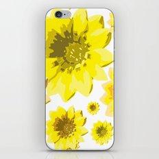 Retro Sunflowers iPhone & iPod Skin