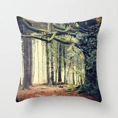 Hêtre de Ponthus - Legendary Trees of Brocéliande Throw Pillow