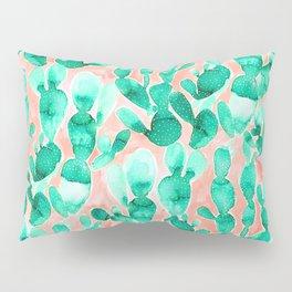 Paddle Cactus Blush Pillow Sham