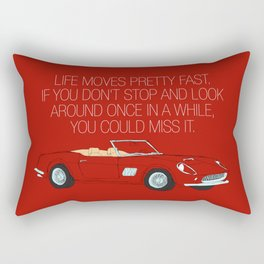 Ferris Bueller's Day Off Rectangular Pillow
