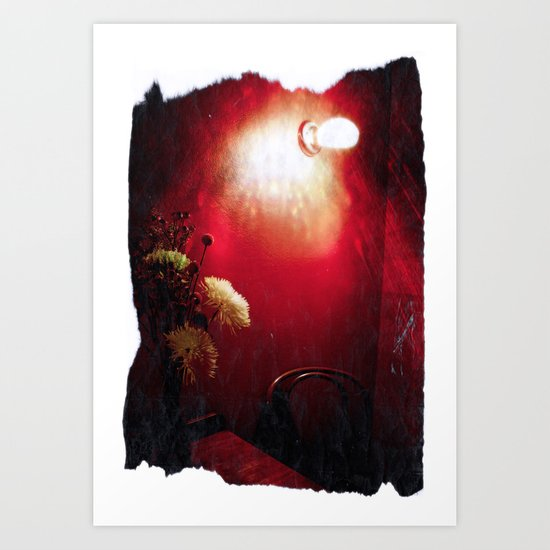 The Red Room Art Print