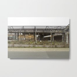 industrial Landscape Metal Print