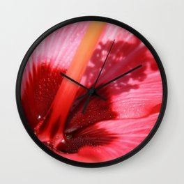 Shadow Bloom fine art photography Wall Clock