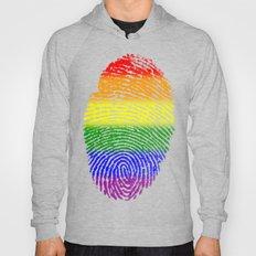 LGBT Pride Fingerprint (Gay Pride) Hoody