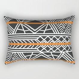 Tribal ethnic geometric pattern 022 Rectangular Pillow