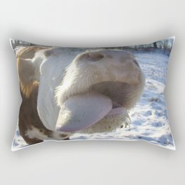 Kiss Me Beautiful Rectangular Pillow