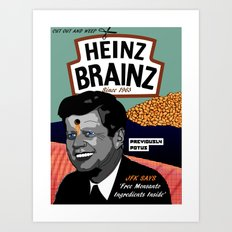 Heinz Brainz Art Print