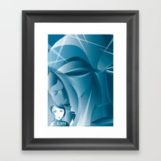Othello's Jealousy Framed Art Print