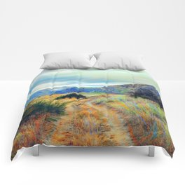 Fall nature landscape photography Comforters