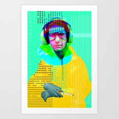 Gioconda Music Project · Beastie Boys · Mike D. Art Print