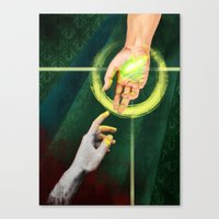 """dragon age inquisition Canvas Prints featuring Dragon Age Inquisition - Hope by Barbara """"Yuhime"""" Wyrowińska"""