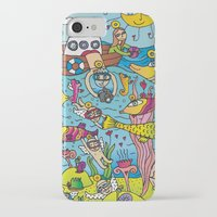angels iPhone & iPod Cases featuring Angels by Kamil Kopecky