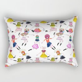 Infinite Hovering Rectangular Pillow