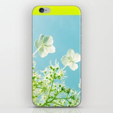 Retro tint Hydrangea iPhone & iPod Skin