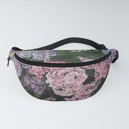 Purple Hydrangea Flowers Fanny Pack