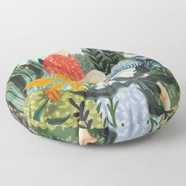 The Distracted Reader Floor Pillow