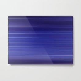 Moving lines Metal Print