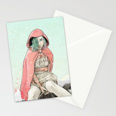 Waiting for the Wolf Stationery Cards