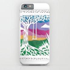 Sunset Swing Papercut Slim Case iPhone 6s