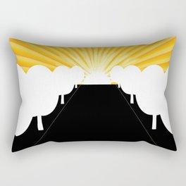 Tree Avenue Rectangular Pillow