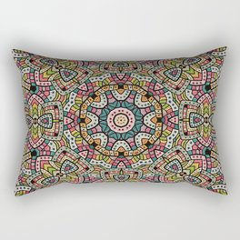 Persian kaleidoscopic Mosaic G506 Rectangular Pillow