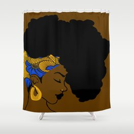 Fro African Shower Curtain