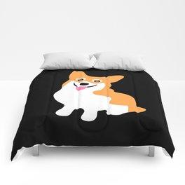 Cute Little Corgi Comforters