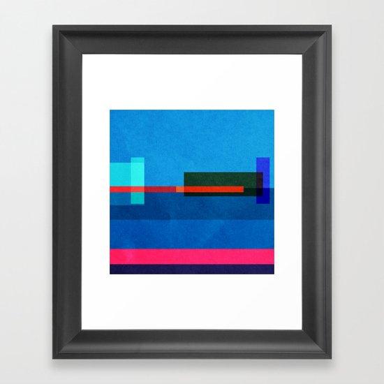 Baltimore 39.2833° N, 76.6167° W. 03 Framed Art Print