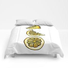 Trois Citrons 1 Comforters