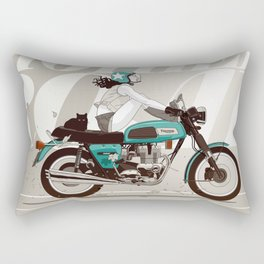 The Mother Road Rectangular Pillow