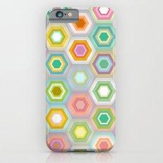 granny pastel hex Slim Case iPhone 6s