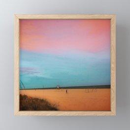 Magestic Sunset Framed Mini Art Print