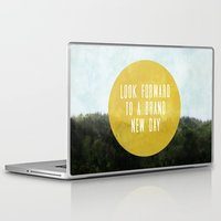 brand new Laptop & iPad Skins featuring Brand New Day by serenefolio