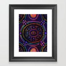 Eye of Spirit Framed Art Print