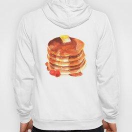 Pancake pile watercolor Hoody