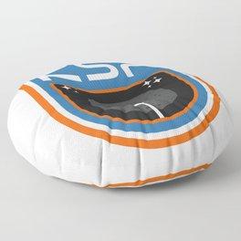 Kerbal Space Program Badge - The Mun Floor Pillow