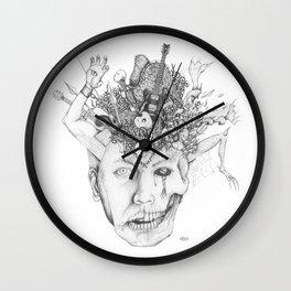 Cerebral Rain Wall Clock