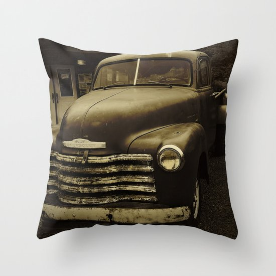 Souls Like the Wheels Throw Pillow