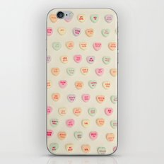 what does your heart say? iPhone & iPod Skin