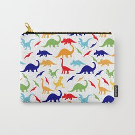 Colorful Dinosaurs Pattern Carry-All Pouch