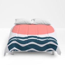 Geometric Form No.9 Comforters