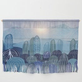 Lines in the mountains 04 Wall Hanging