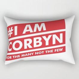 I Am Corbyn Rectangular Pillow