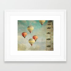 painting thoughts 2 Framed Art Print