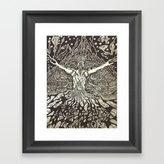 Present During All Creation Framed Art Print
