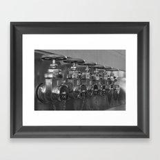 Hydrants Framed Art Print