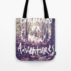 New Adventures Tote Bag